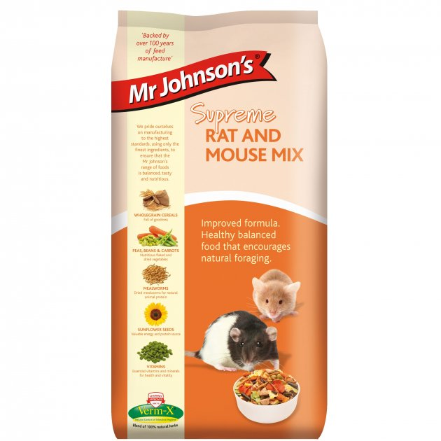 Mr Johnson's Supreme Rat & Mouse Mix
