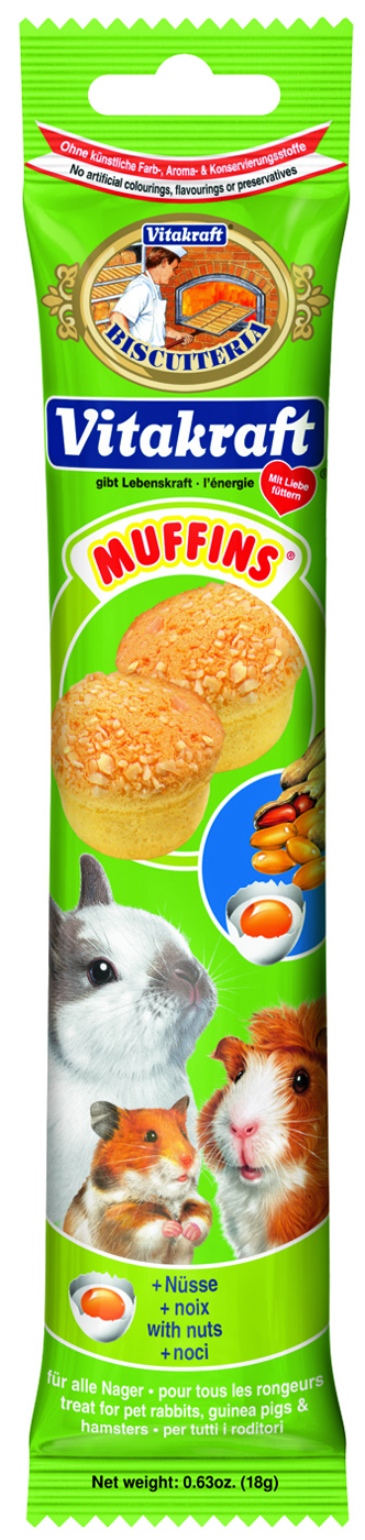 Vitakraft Nut Muffins Hamster Treats