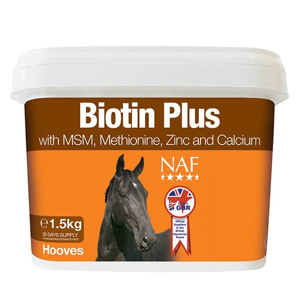 NAF Biotin Plus Premium Formula For Horses