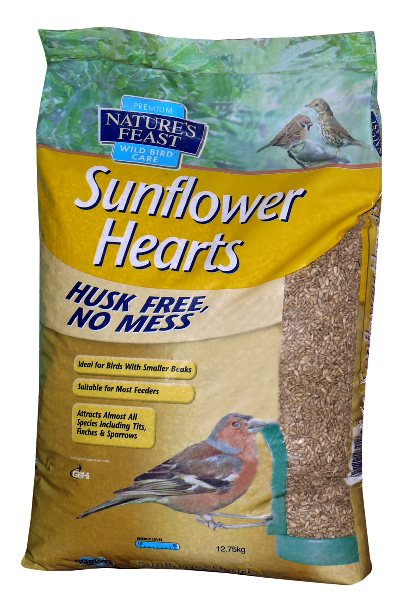Nature's Feast Sunflower Hearts Wild Bird Food