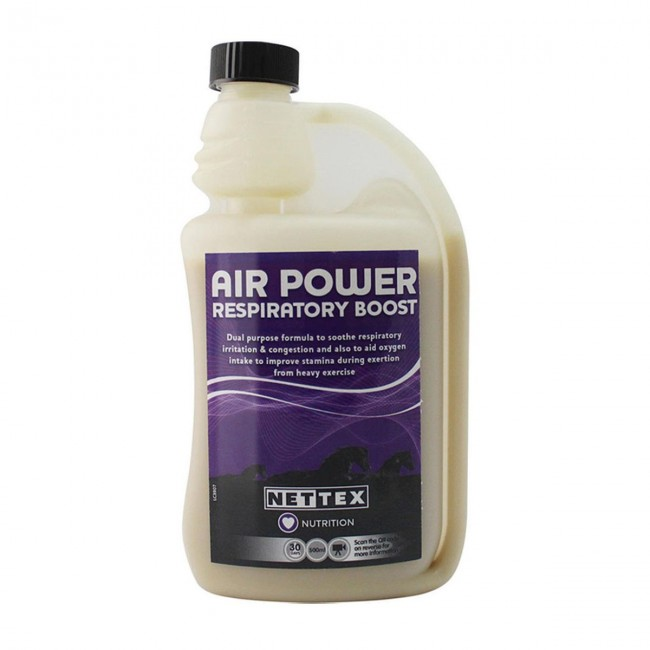 Net-Tex Air Power Respiratory Boost for Horses
