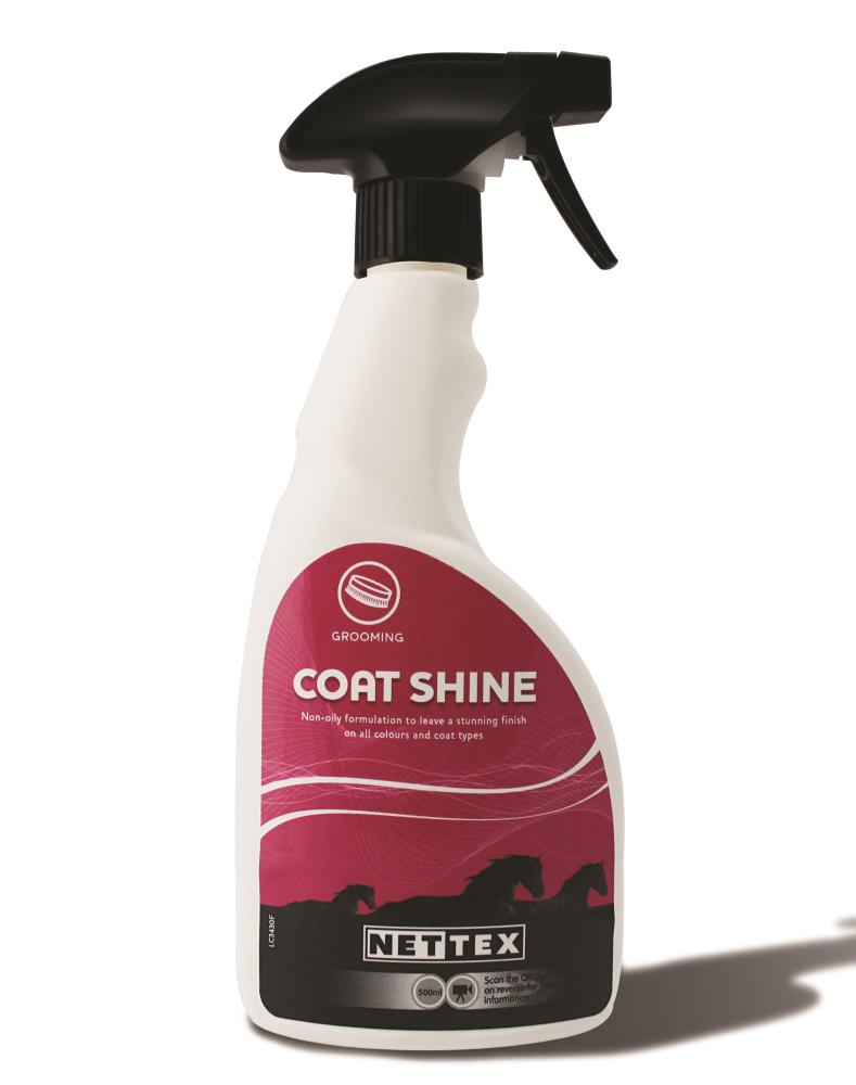 Net-Tex Coat Shine for Horses
