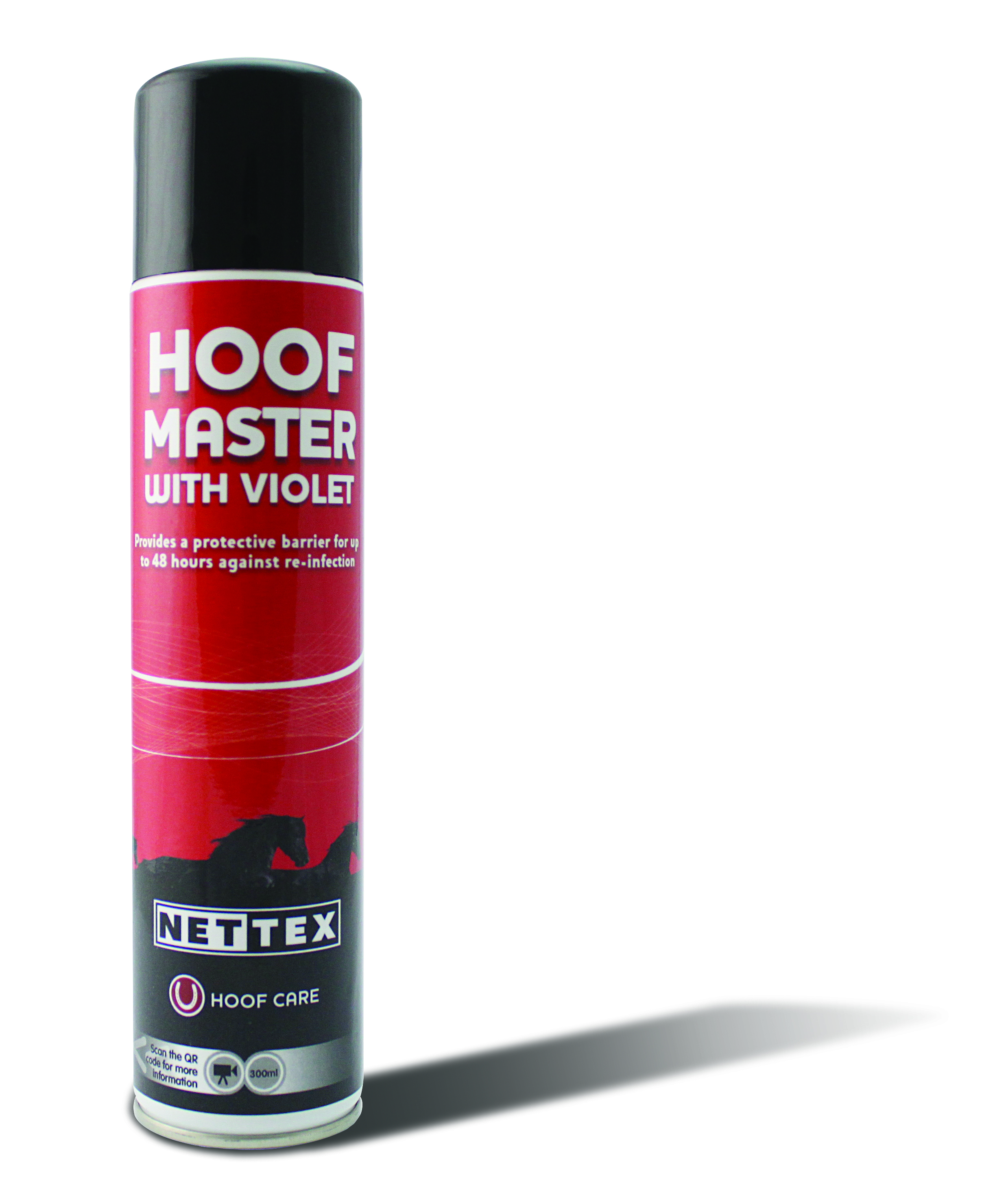 Net-Tex Hoof Master with Violet for Horses