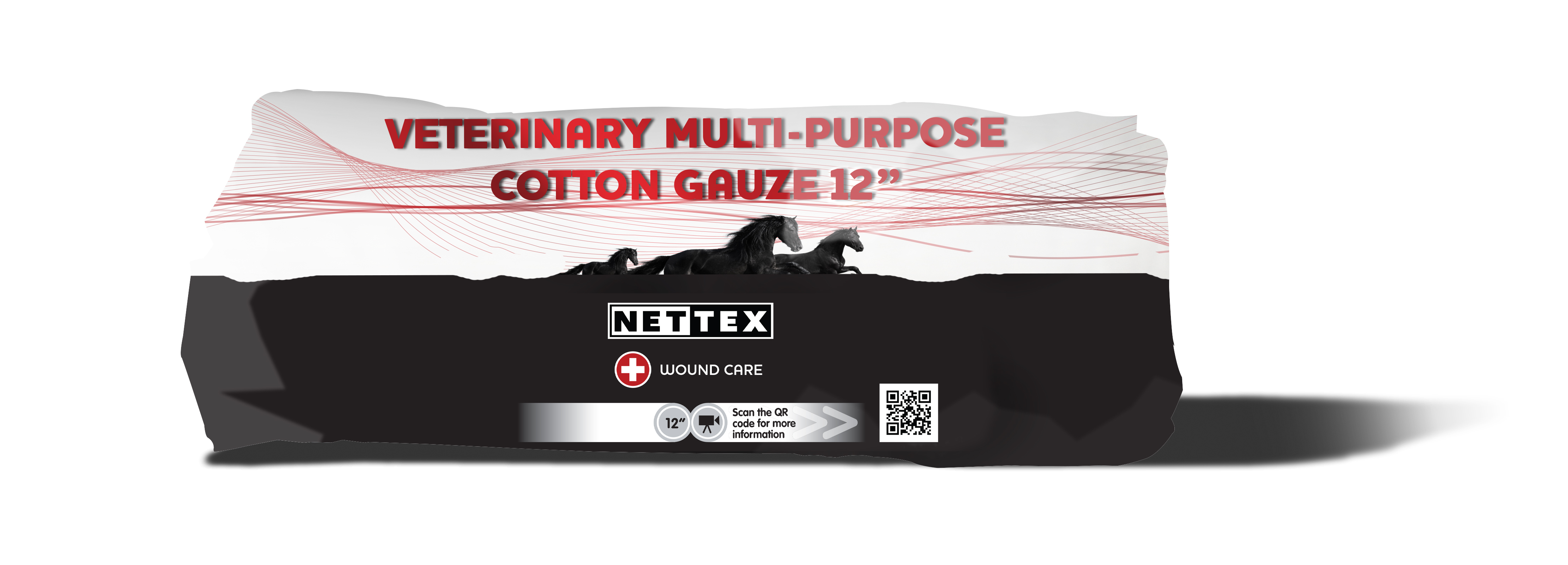Net-Tex Veterinary Multi-Purpose Cotton Gauze