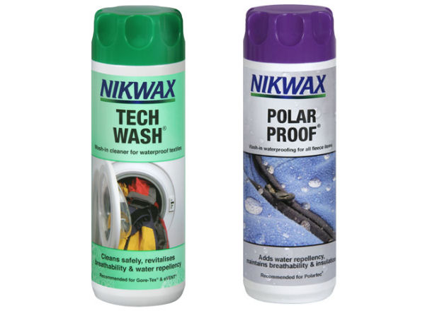 Nikwax Tech Wash & Polar Proof Twin Pack