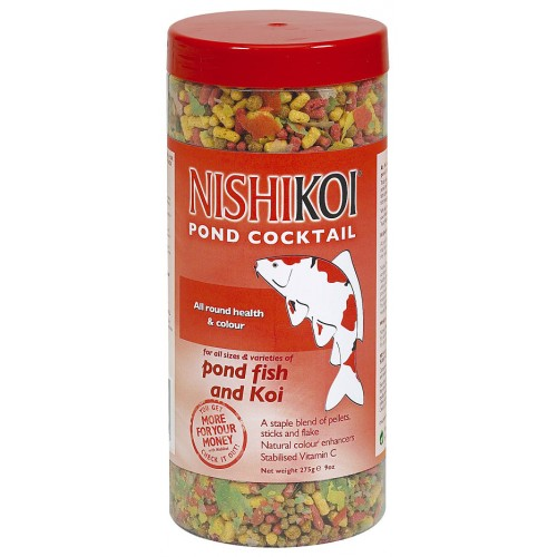 Nishikoi Pond Cocktail Fish Food