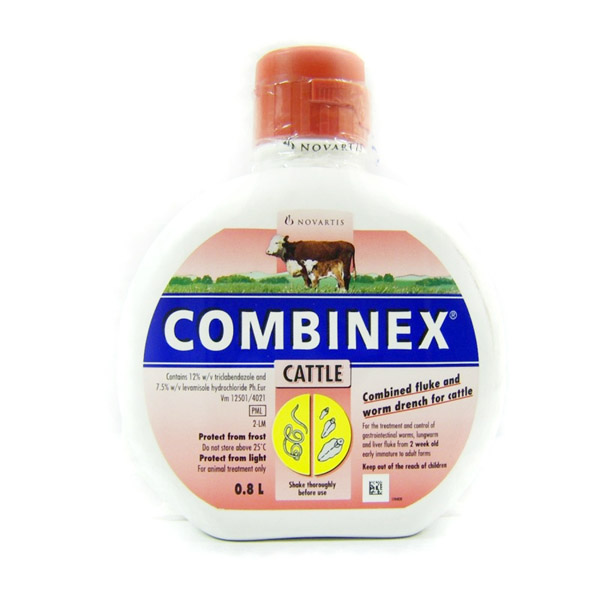 Novartis Flukicide Combinex for Cattle