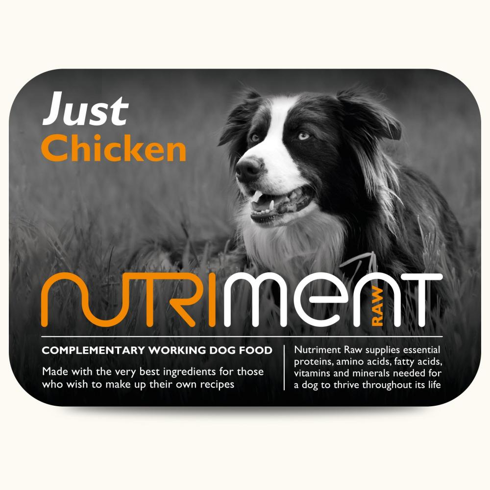 Nutriment Just Raw Dog Food