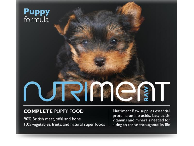 Nutriment Raw Complete Puppy Formula