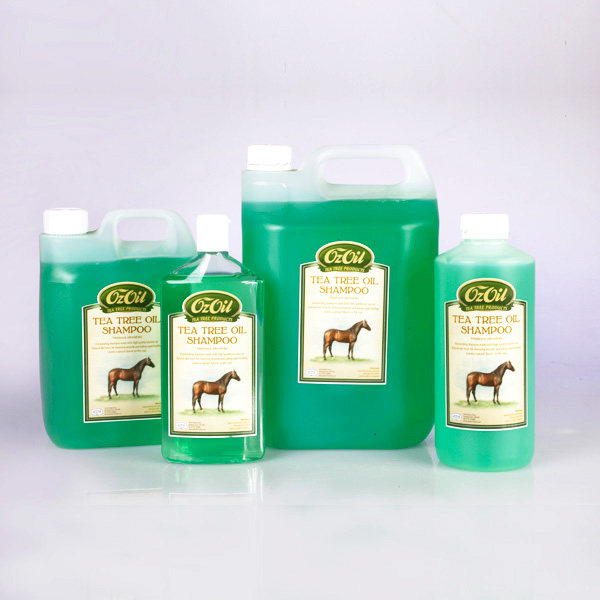 Oz Oil Tea Tree Oil Shampoo & Lotion for Horses