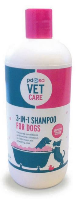 PDSA 3-in-1 Shampoo For Dogs