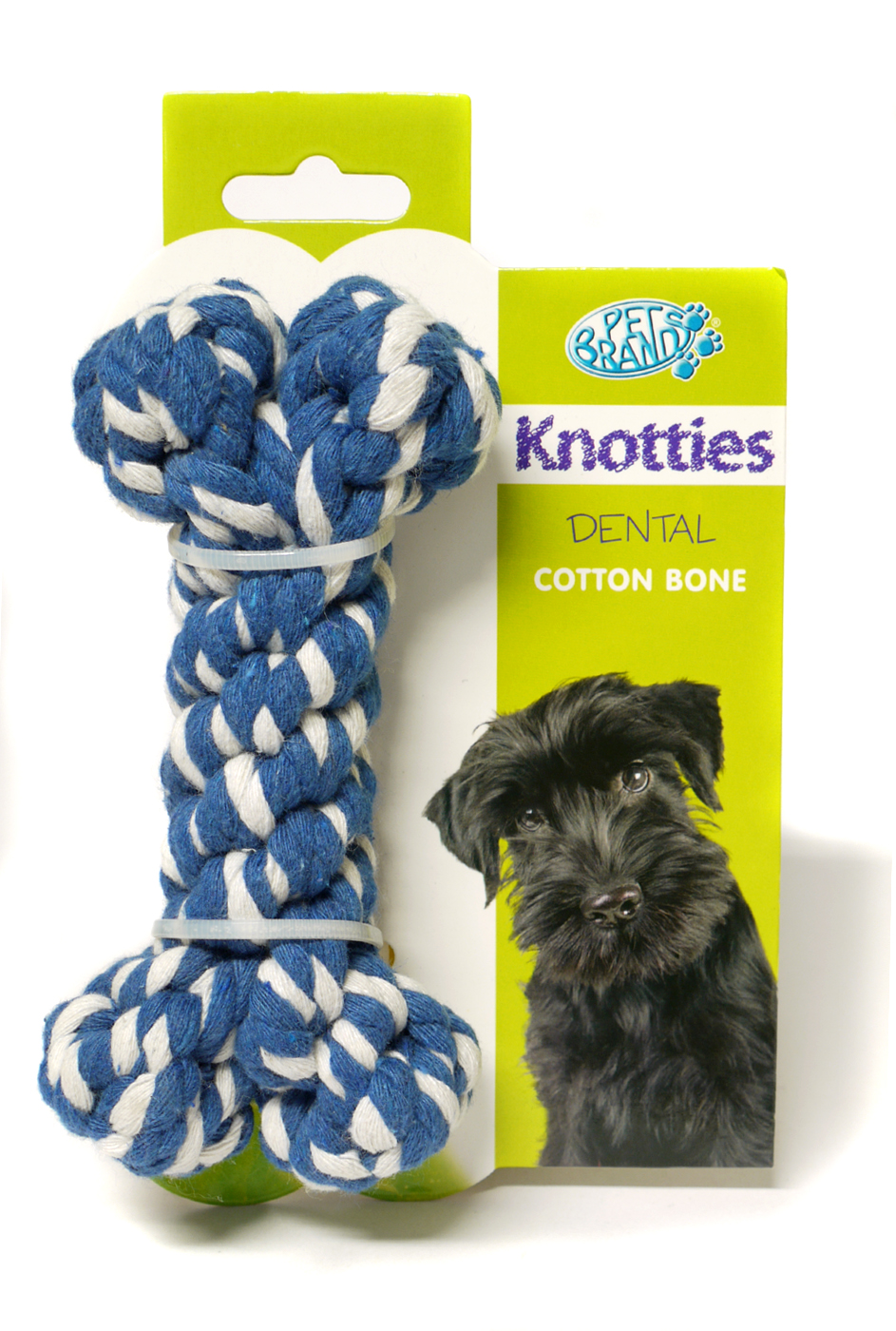 Pet Brands Knotties Bone Dog Toy