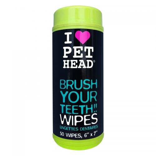 Pet Head Brush Your Teeth Wipes