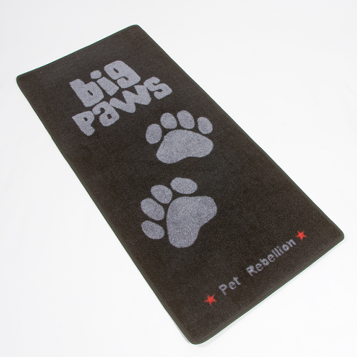 Pet Rebellion Big Paws Dog Door Mat
