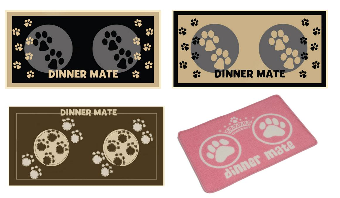 Pet Rebellion Dinner Mate Non-Slip Dog Mats