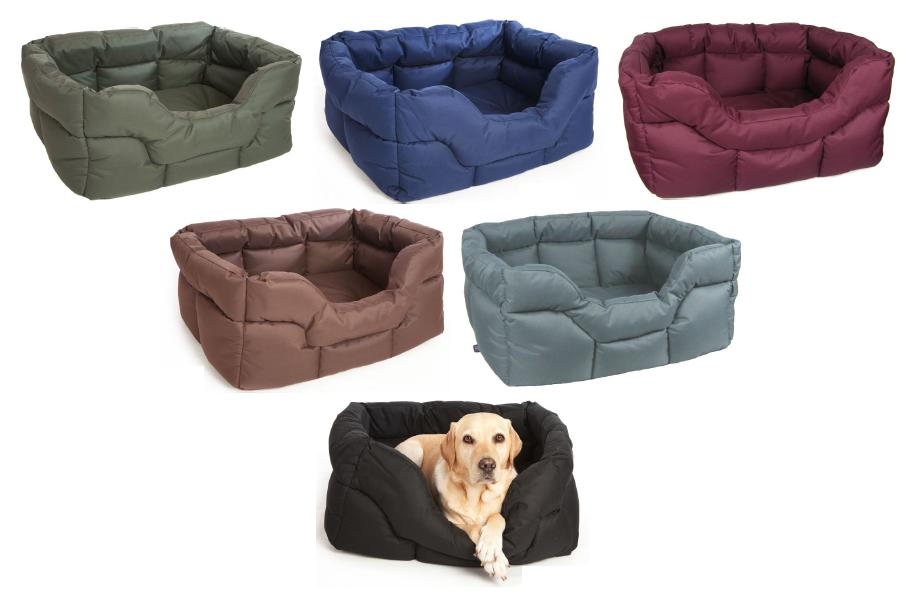 Pets & Leisure Heavy Duty Waterproof Rectangular Softee Dog Bed