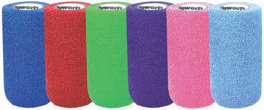 Powerflex Assorted Colour Bandages