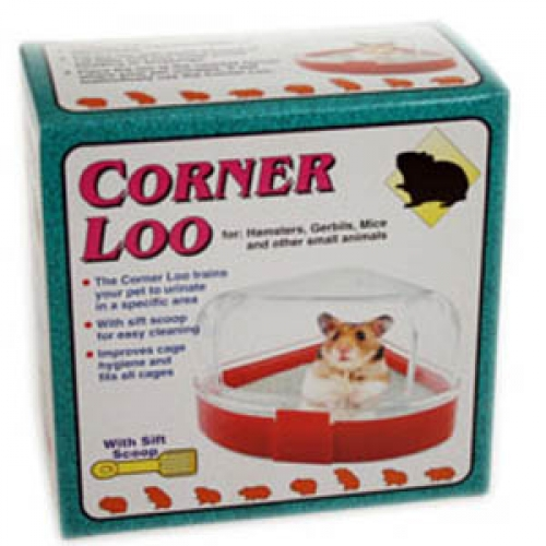 PPI Corner Loo For Hamsters
