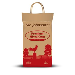 Mr. Johnson's Premium Mixed Corn Poultry Feed