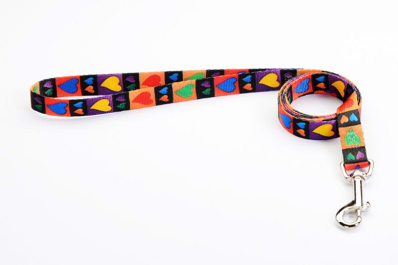 Premium Tuff Lock Hearts Dog Lead