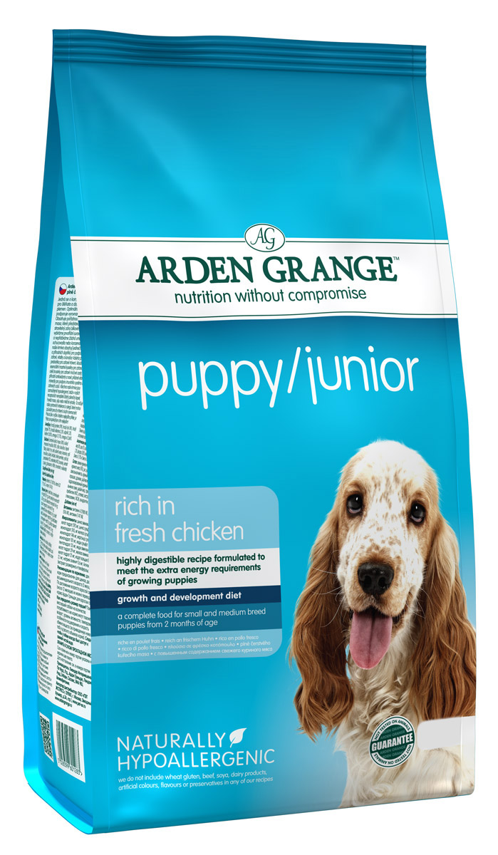 Arden Grange Rich in Fresh Chicken Puppy/Junior Food