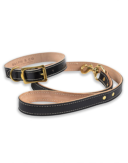 Ralph & Co Dog Lead Leather Milano