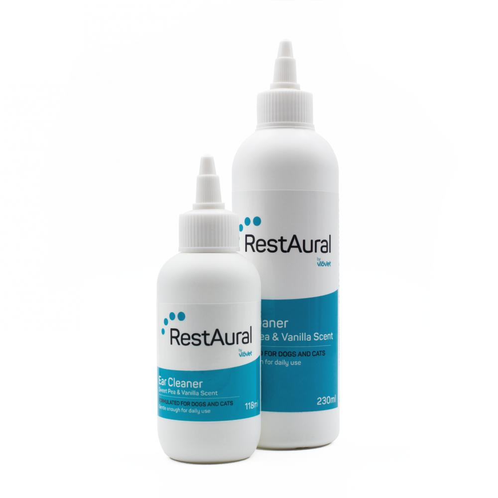RestAural™ Ear Cleaner for Dogs & Cats
