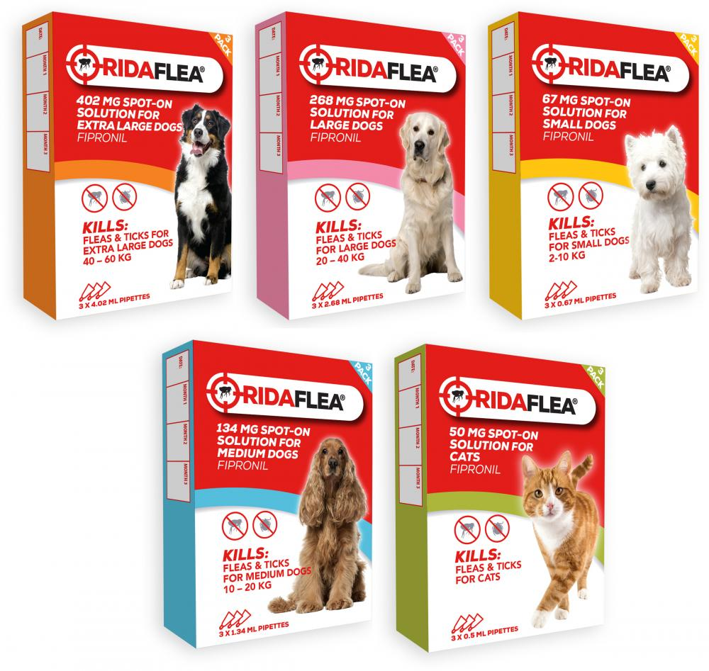 RidaFlea For Dogs & Cats