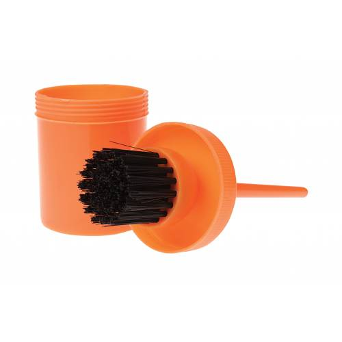 Roma Brights Hoof Oil Brush and Bottle