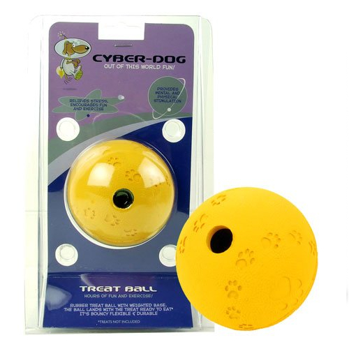 Cyber-Dog Treat Ball Dog Toy