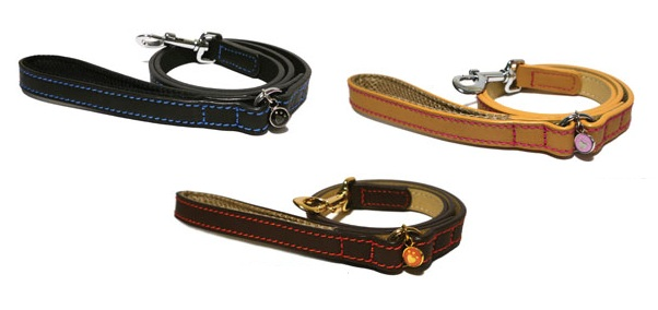 Rosewood Luxury Leather Dog Lead