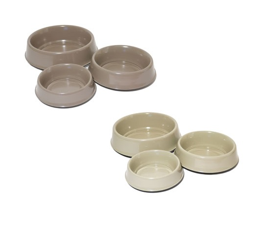 Rosewood Stainless Steel Coloured Raised Pet Bowl