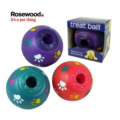 Rosewood Treat Ball Dog Toy