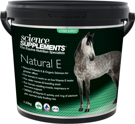 Science Supplements Natural E & Selenium