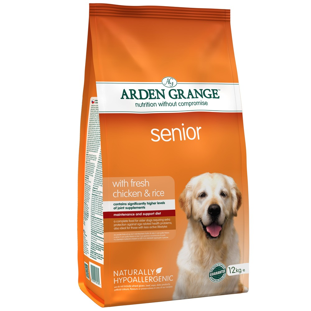 Arden Grange Senior With Fresh Chicken & Rice Dog Food