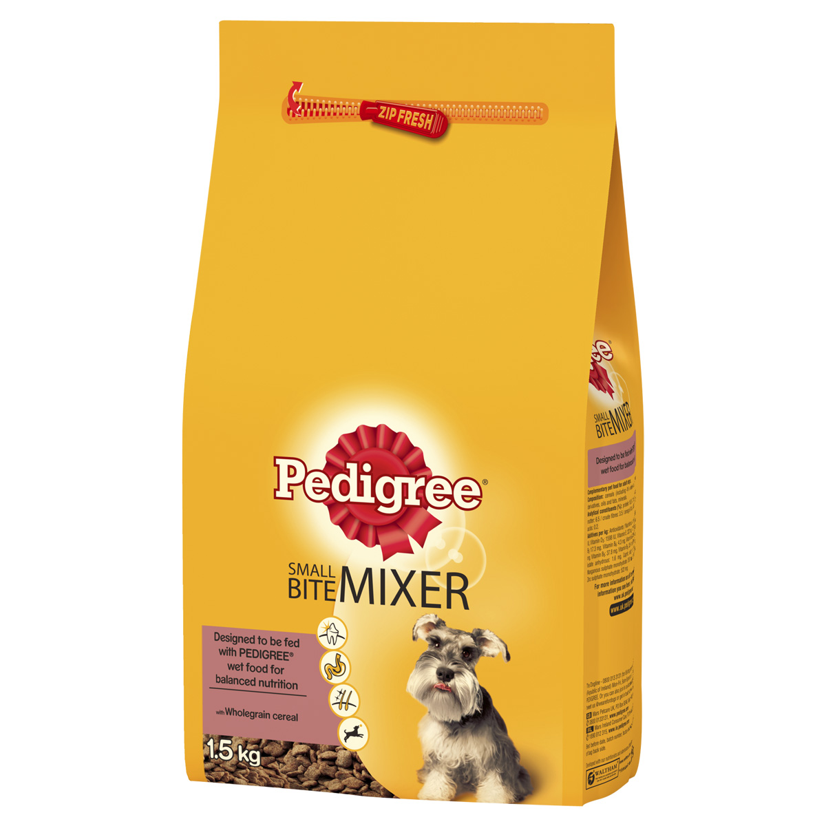 Pedigree Small Dog Food Ingredients