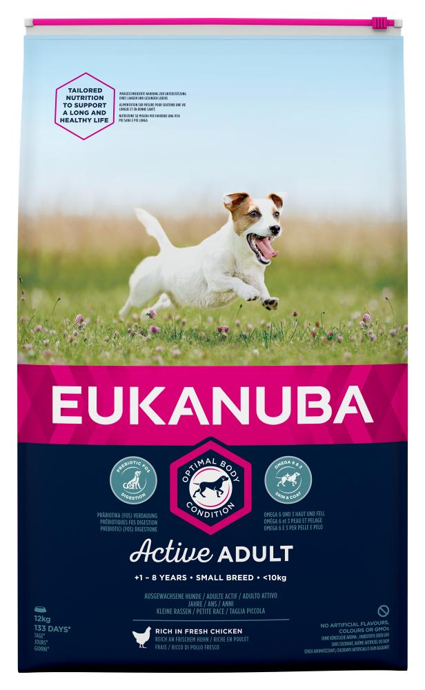 Eukanuba Adult Small Breed Chicken Dog Food