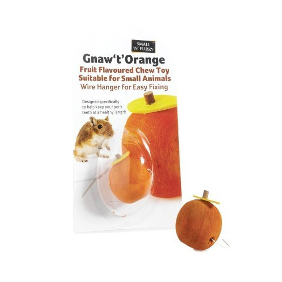 Small 'N' Furry Gnaw 't' Chew for Small Animals
