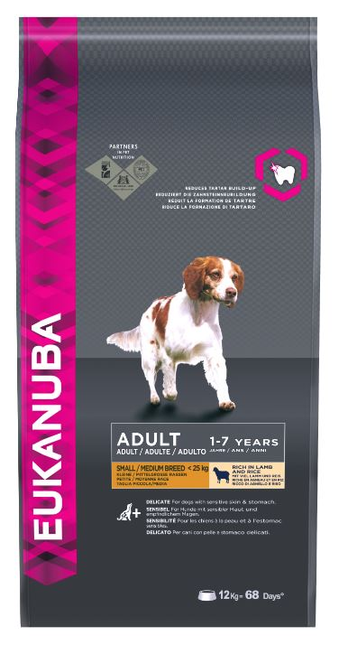 Eukanuba Adult Small/Medium Breed Lamb & Rice Dog Food