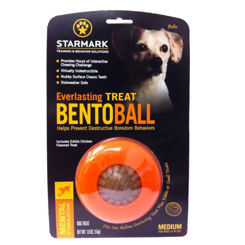 Starmark Everlasting Dog Treat Ball Medium