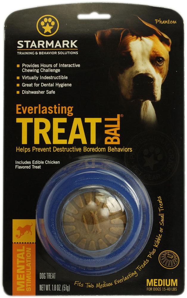 Starmark Everlasting Treat Ball 🐶 Dog Toy
