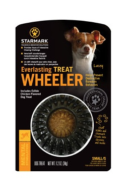 Starmark Everlasting Treat Wheeler Dog Toy