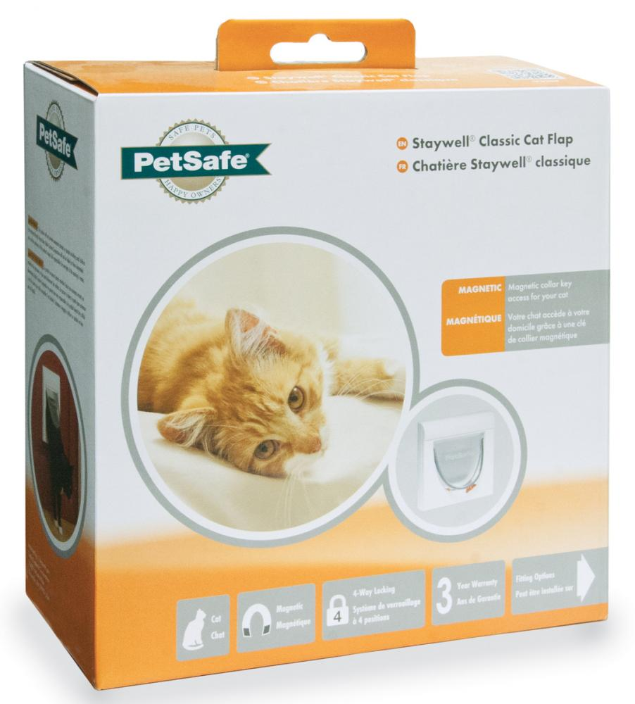 Staywell Classic Magnetic Cat Flap