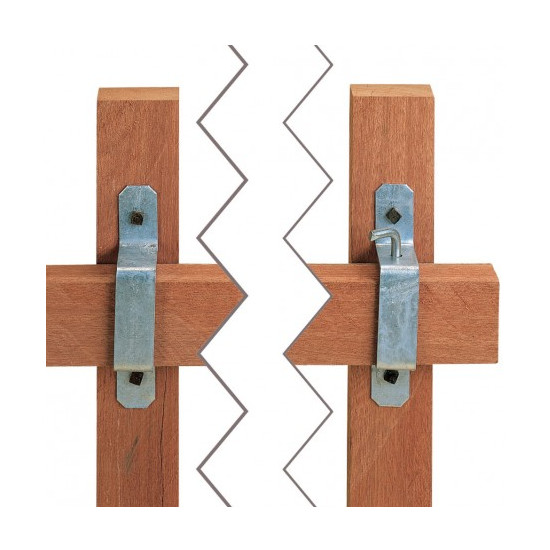 Stubbs Slip Rail Bracket Set