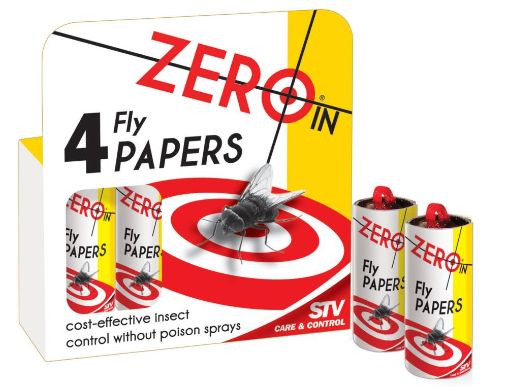 Zero In Fly Papers Insect Traps