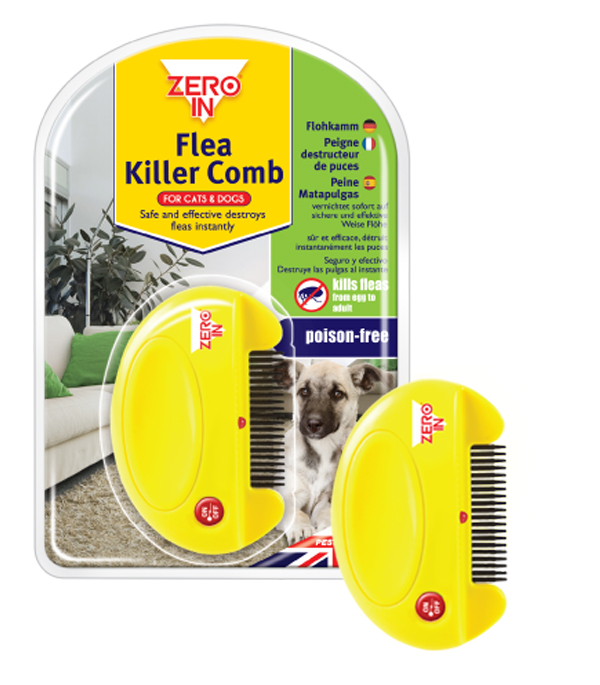 Zero In Flea Killer Comb for Dogs & Cats