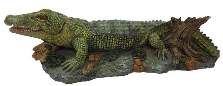 Supa Crocodile Air Operated Aquarium Ornament