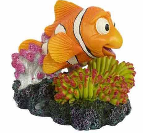 Supa Clown Fish Air Operated Aquarium Ornament