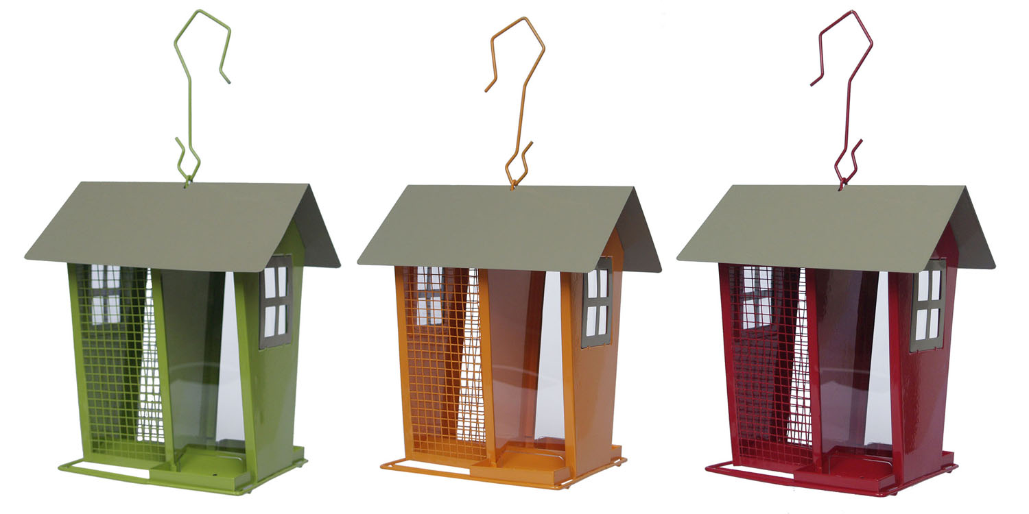 Supa Norfolk Seed & Peanut Wild Bird Feeder