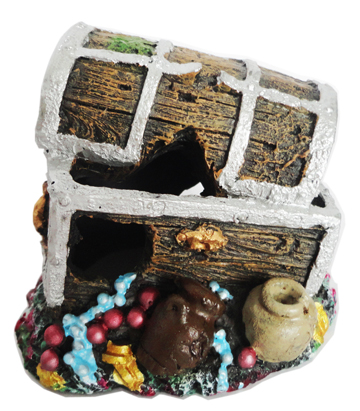 Supa Treasure Chest Aquarium Ornament